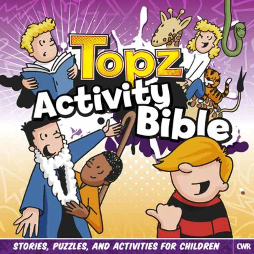 Activity Bible (Topz15 (Every Day With Jesus) Series) Paperback