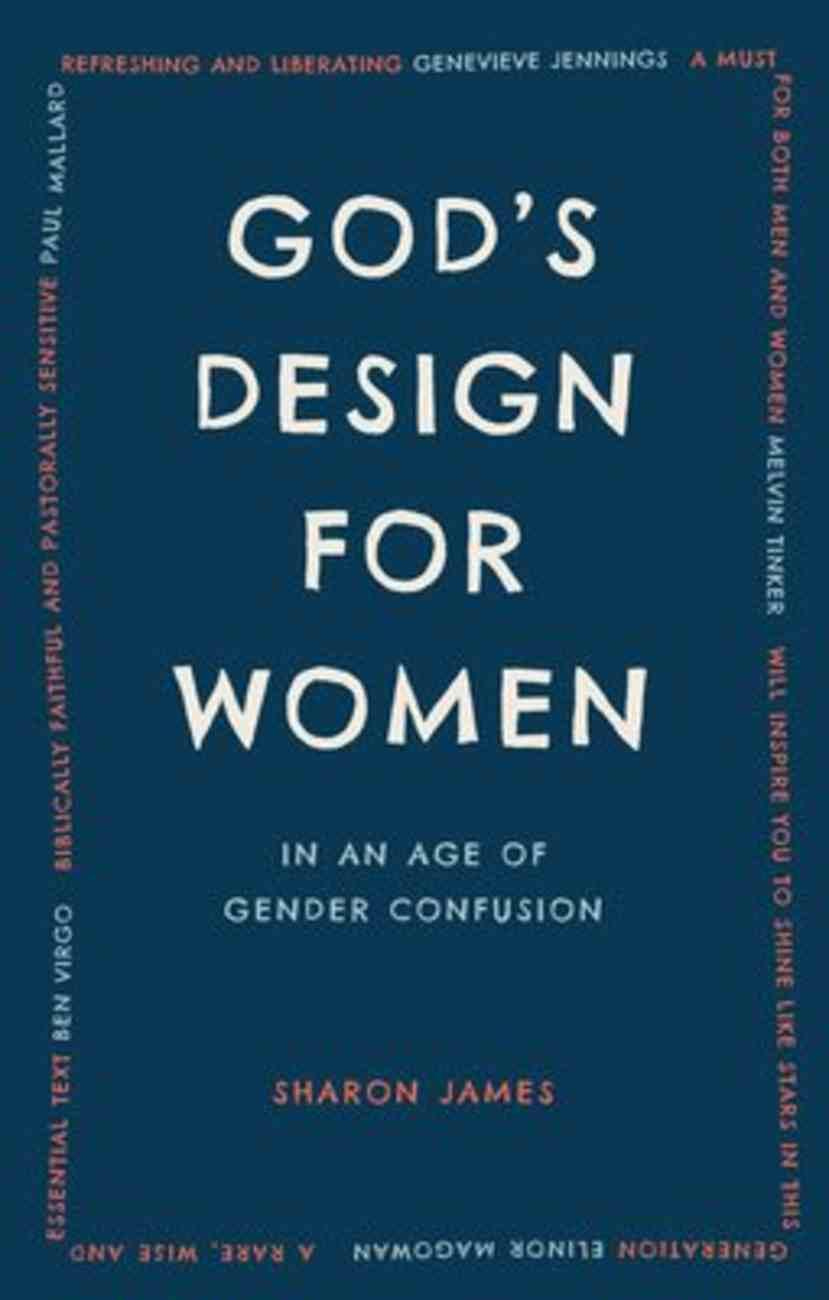 God's Design For Women Paperback