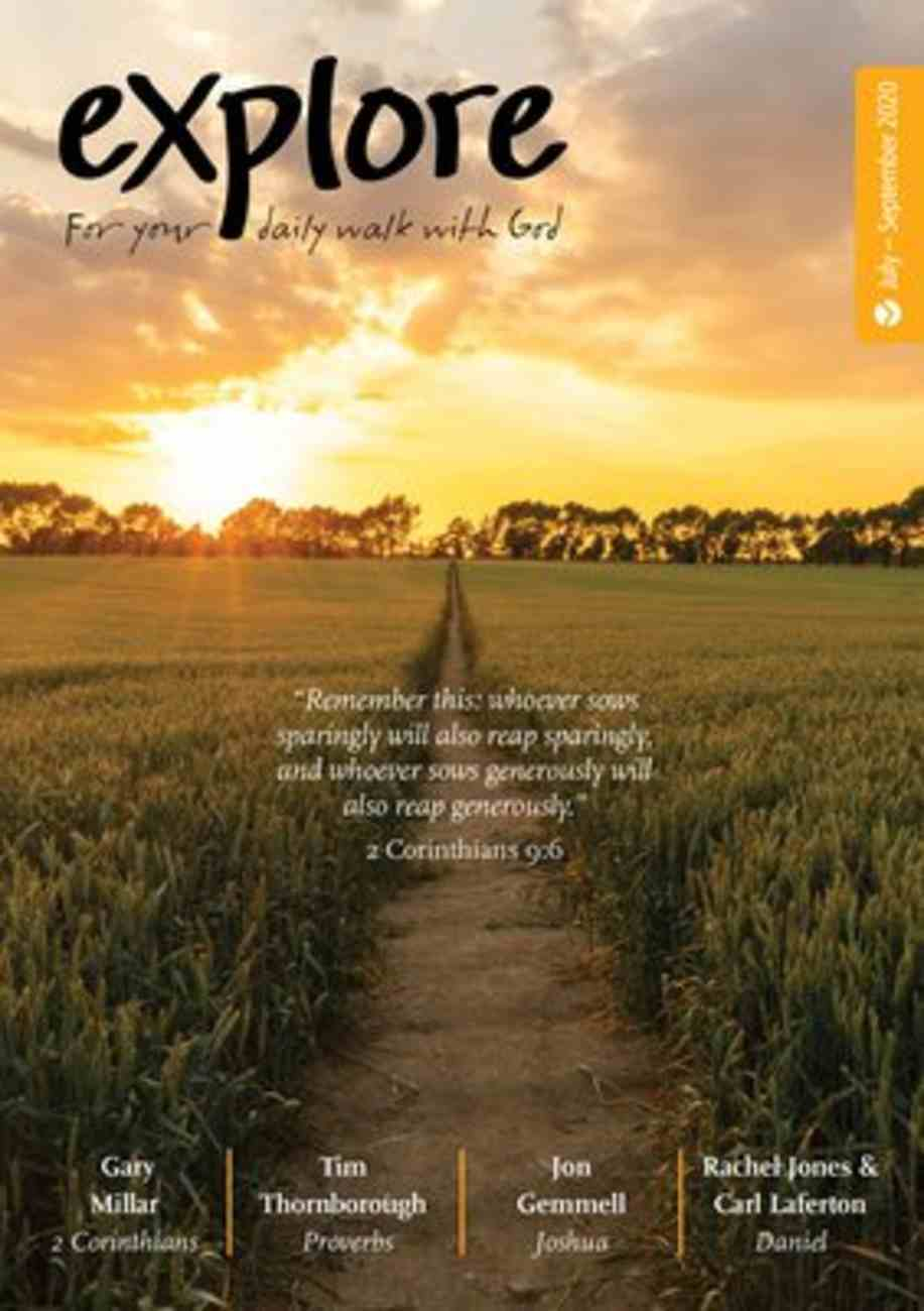 Explore: For Your Daily Walk With God (Jul-sep 2020) Paperback