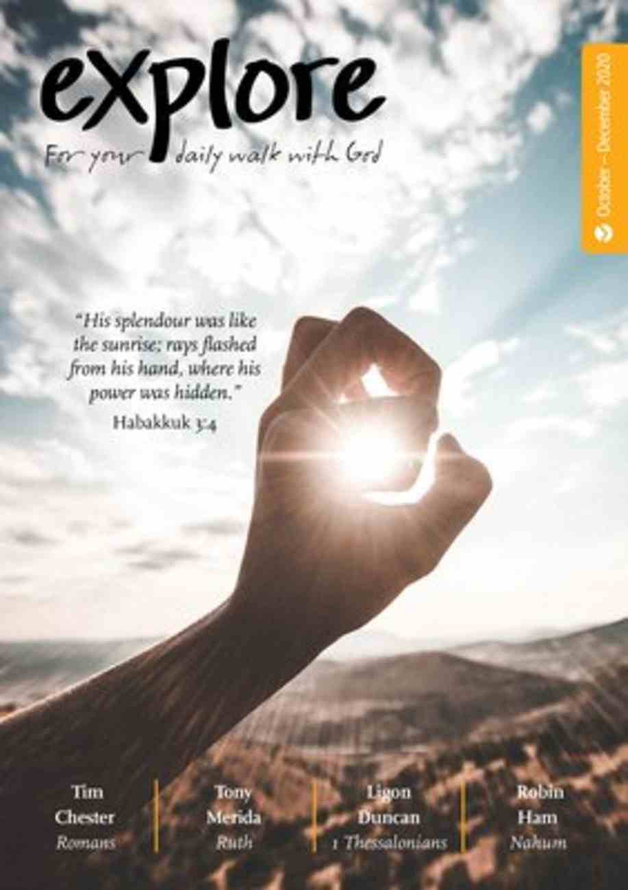Explore: For Your Daily Walk With God (Oct-dec 2020) Paperback