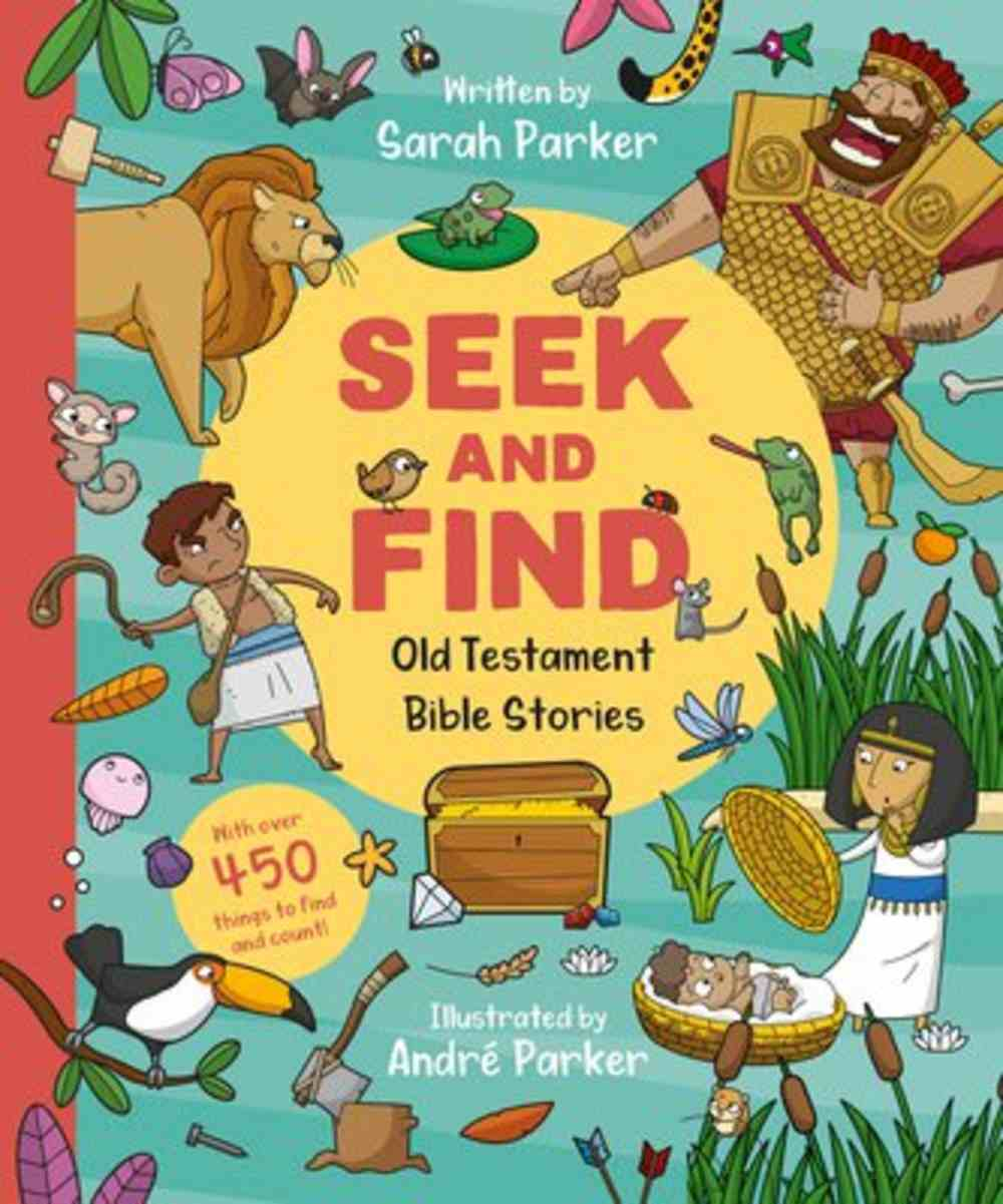 Seek and Find: Old Testament Bible Stories Board Book