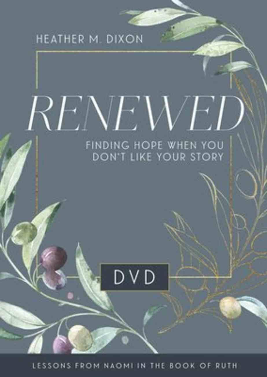 Renewed - Women's Bible Study (Dvd) DVD