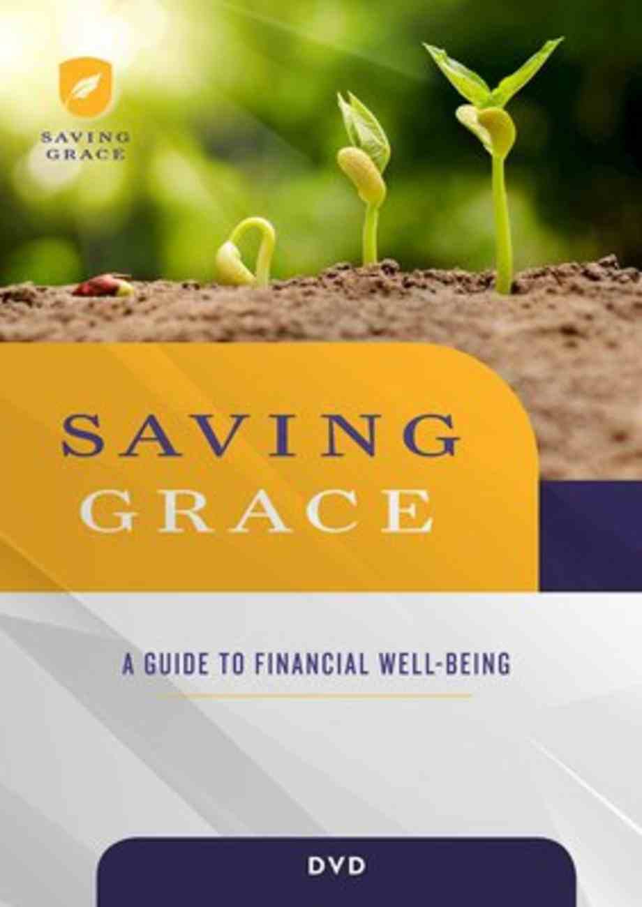Saving Grace: A Guide to Financial Well-Being (Dvd) DVD