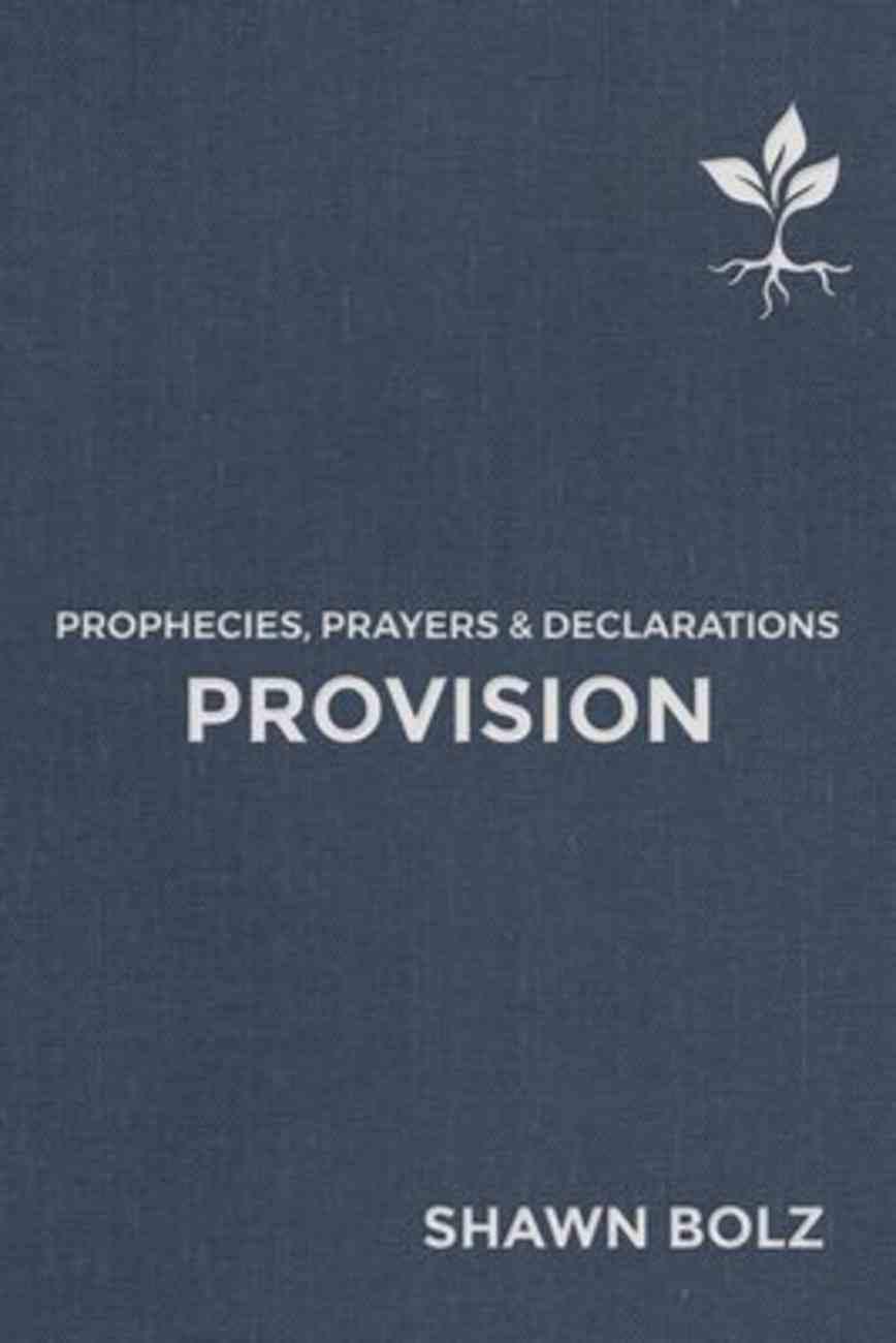 Provision: Prophecies, Prayers & Declarations Hardback