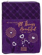 2021 18 Month Planner: All Things Beautiful (Faux Ziparound) image