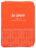 2021 18-month Planner: Be Brave (Faux Ziparound) image