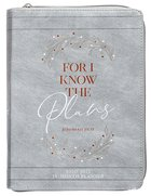 2021 18-month Planner: For I Know The Plans (Faux Ziparound) image