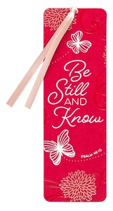 Product: Bookmark Be Still And Know Image