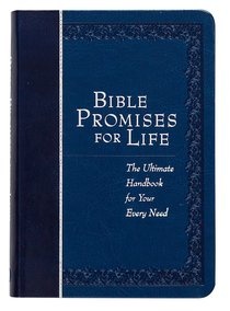 Product: Bible Promises For Life (Navy) Image