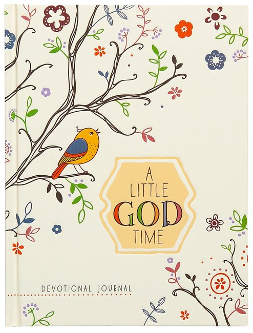 Product: Little God Time, A: Devotional Journal (Rustic) Image