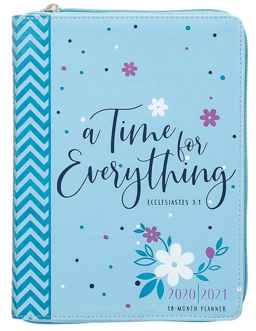 Product: 2021 18-month Planner: A Time For Everything (Faux Ziparound) Image