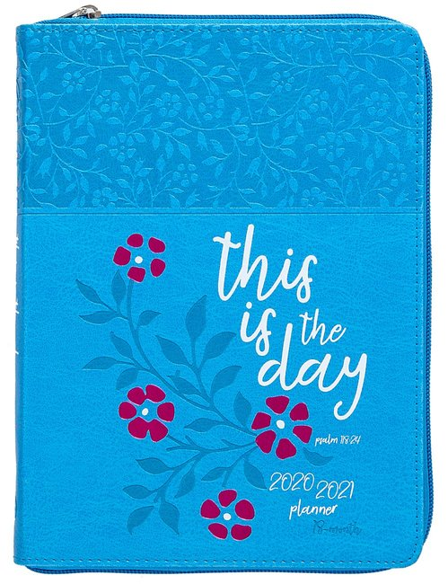 Product: 2021 18-month Planner: This Is The Day (Faux Ziparound) Image