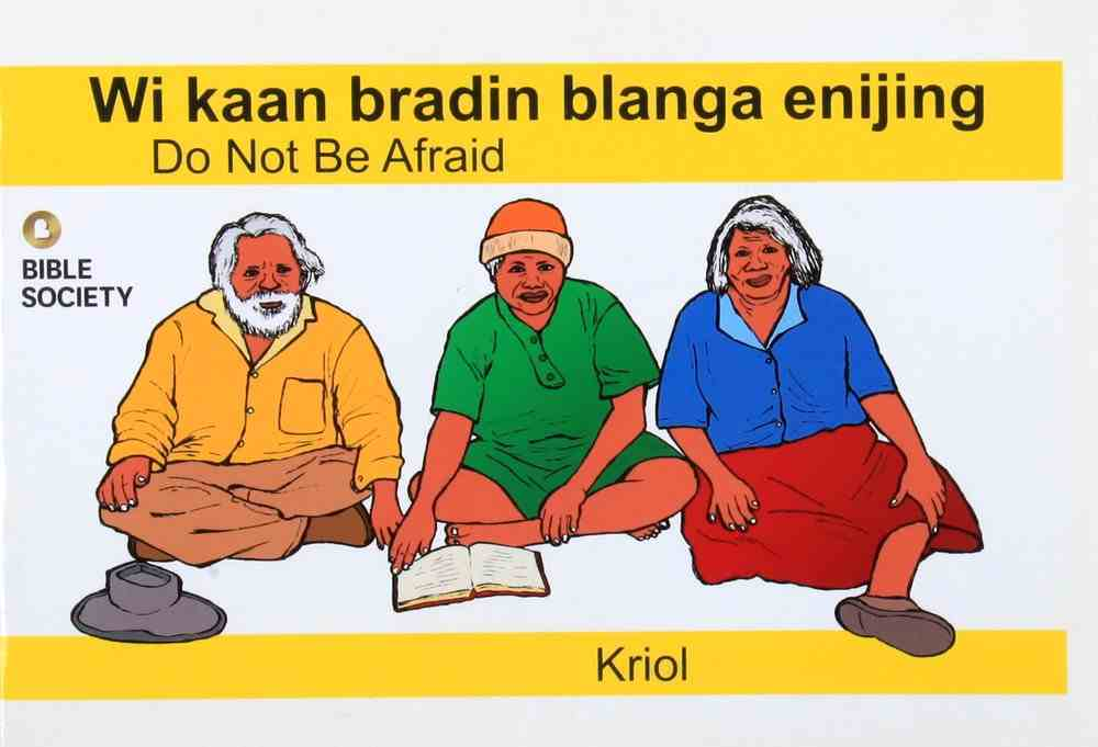 Do Not Be Afraid (Kriol) Booklet