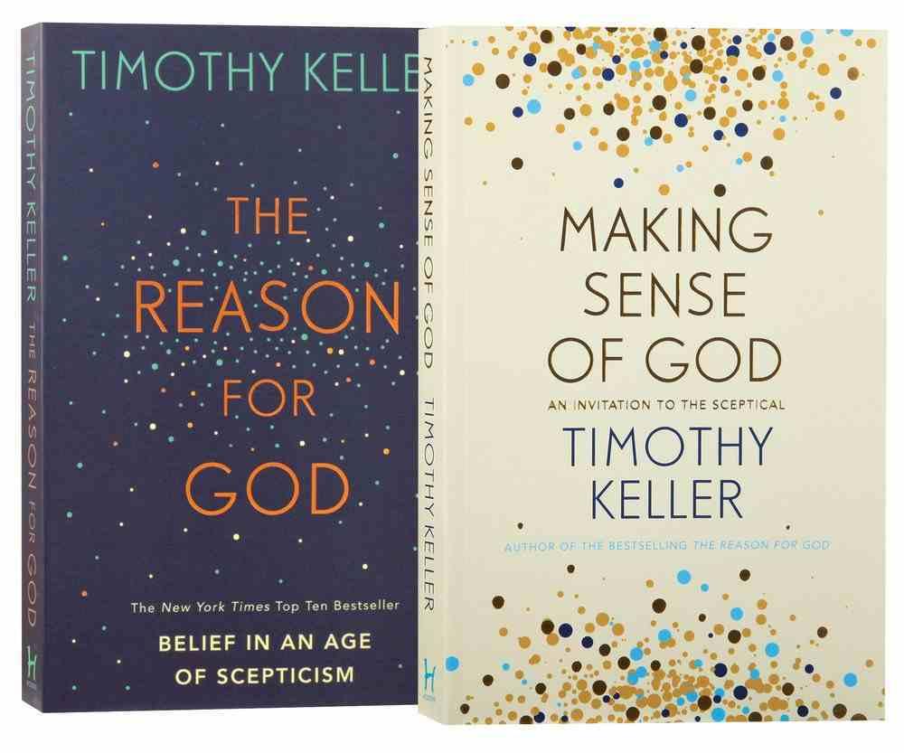 Tim Keller Sense & Reason (2 Pack) Pack