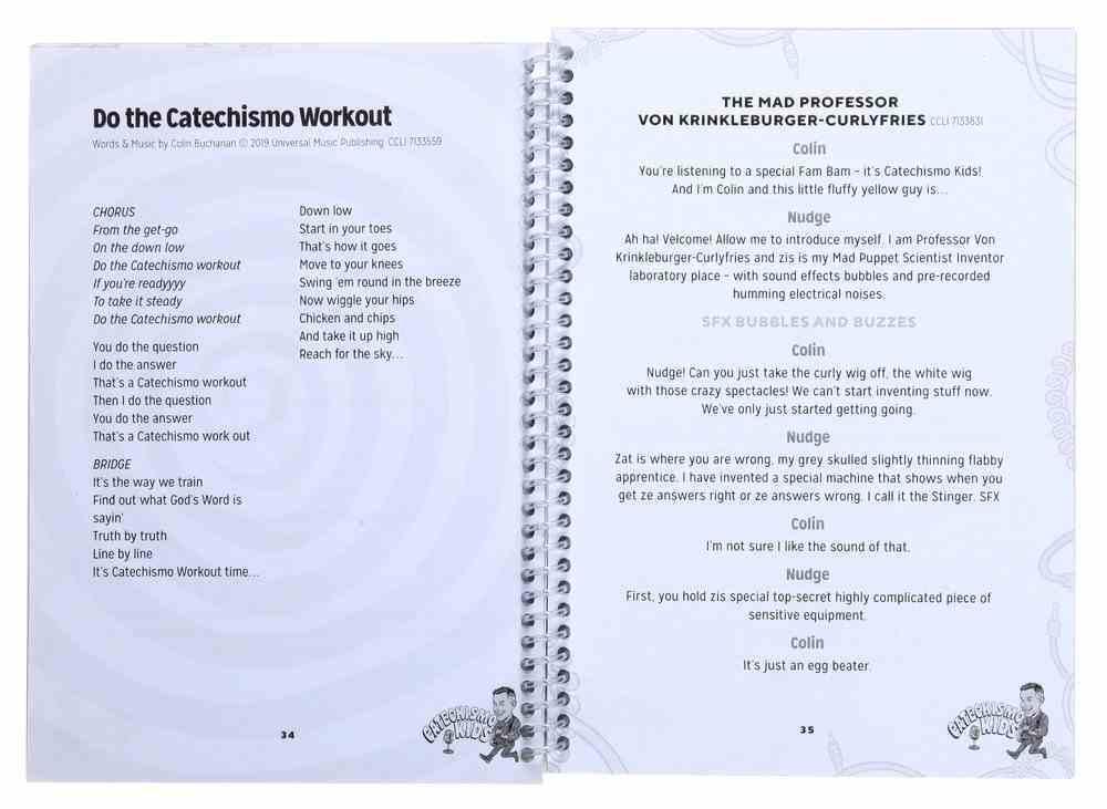 Catechismo Kids Script Paperback