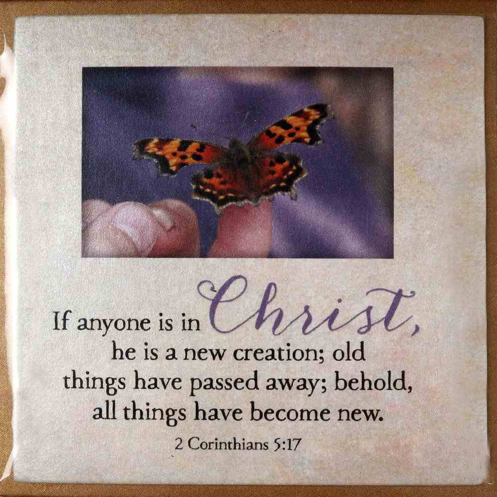 Touching Thoughts Magnet: Christ... If Anyone is in Christ He is a New Creation... (2 Cor 5:17) Novelty