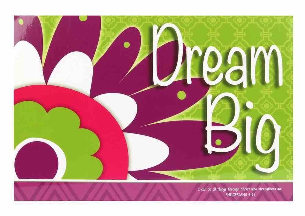 Poster Small: Dream Big Poster
