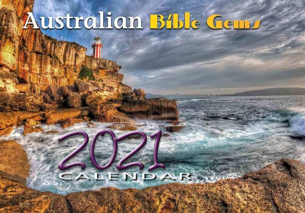 2021 Wall Calendar: Australian Bible Gems Calendar