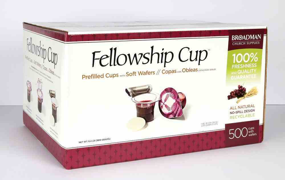 Communion: Fellowship Cup, the ((Use By Date is in American Format Mm/Dd/Yyyy) (Box Of 500) Box