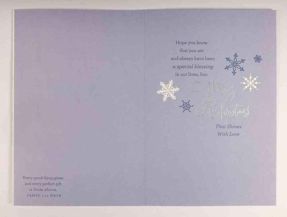 Christmas - Son Cards