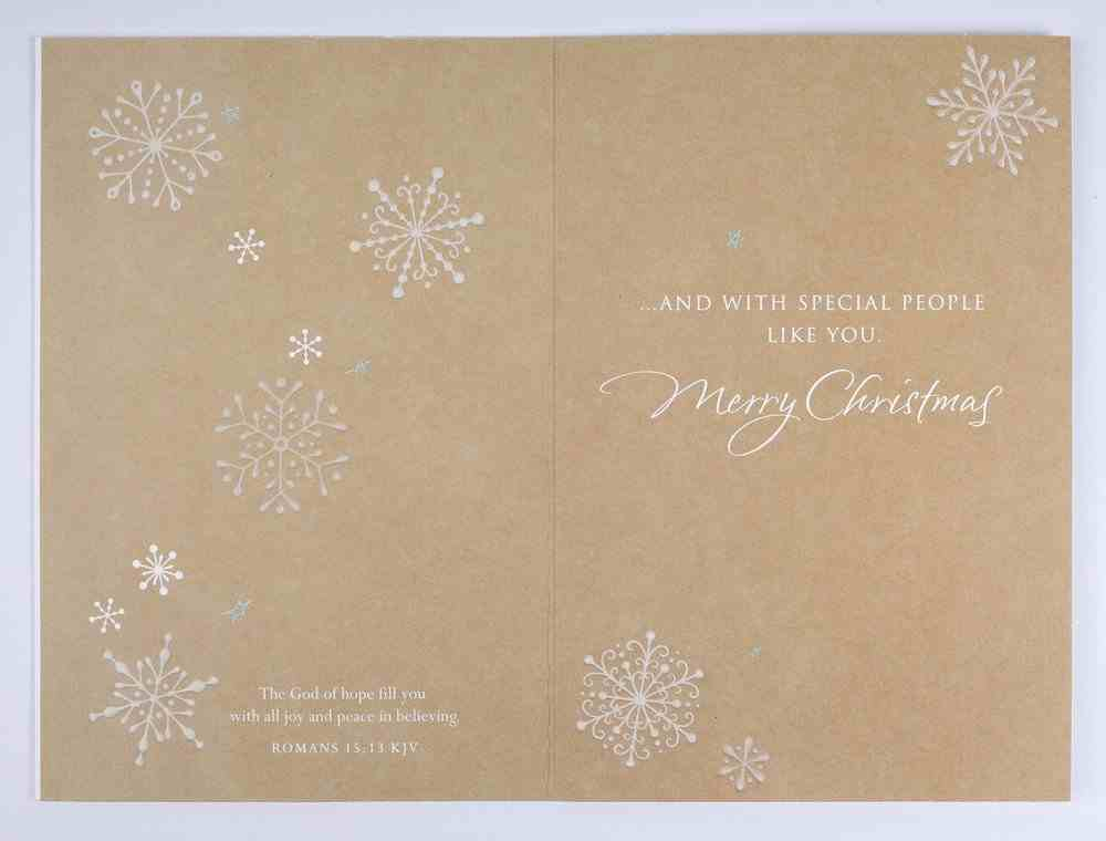 Christmas Anyone - Simple Blessings Cards