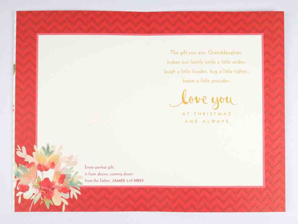 Christmas - Granddaughter Cards