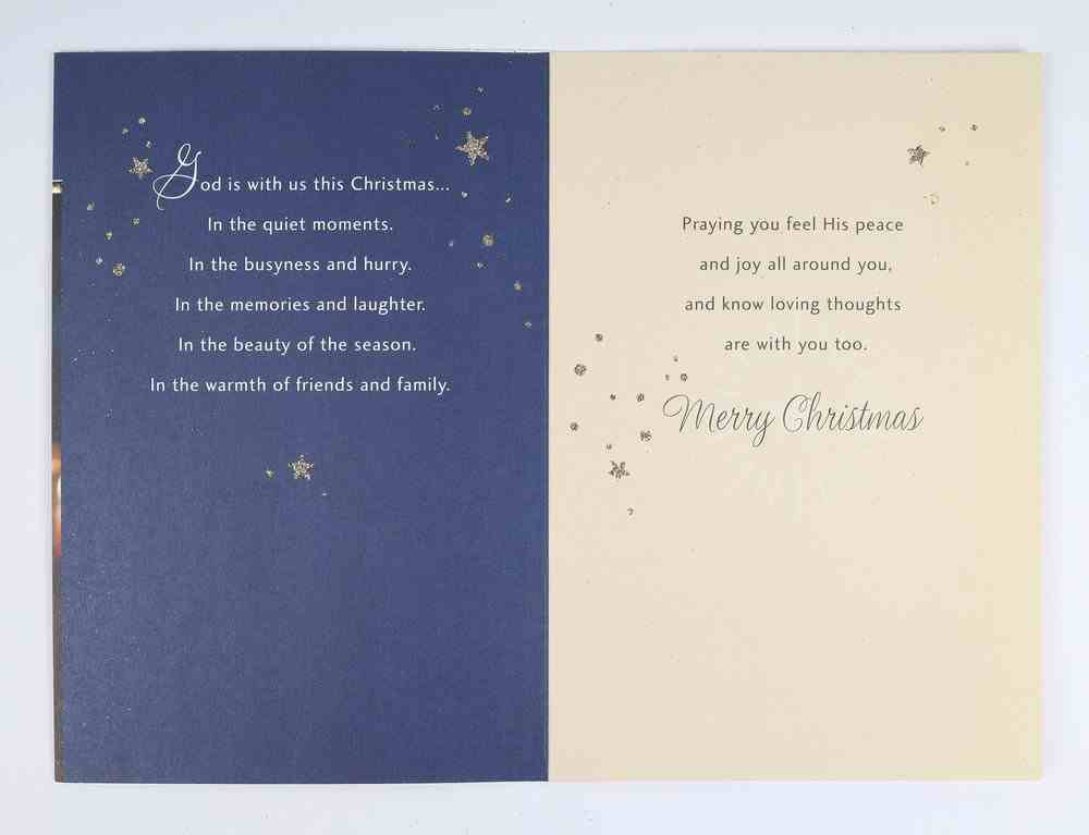 Christmas - For Anyone, Candles, Matthew 1: 23 Cards