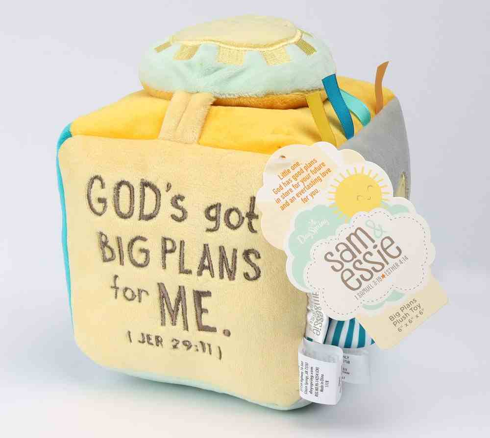Baby Big Plans Plush Discovery Block Soft Goods