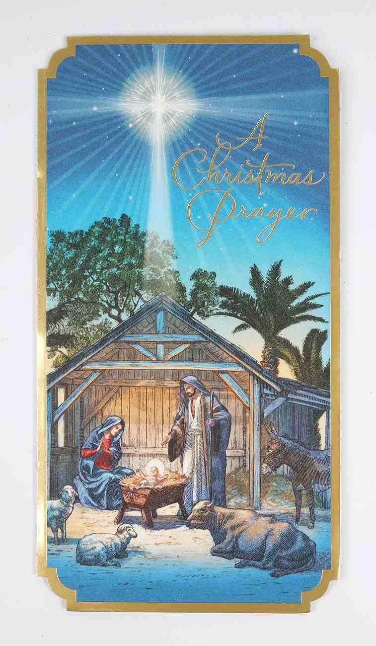 Christmas Anyone - a Christmas Prayer Cards