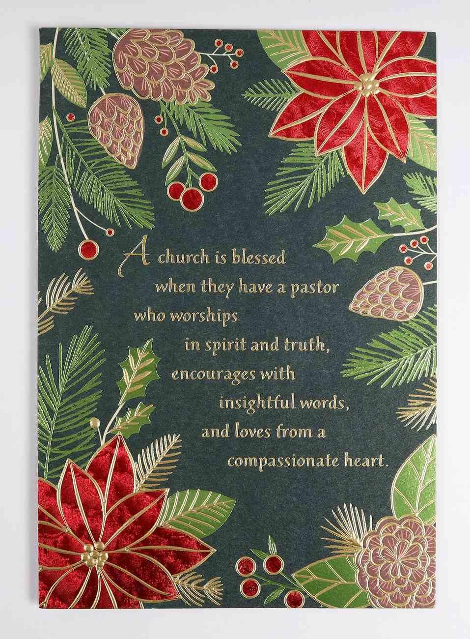 Christmas - Pastor Cards