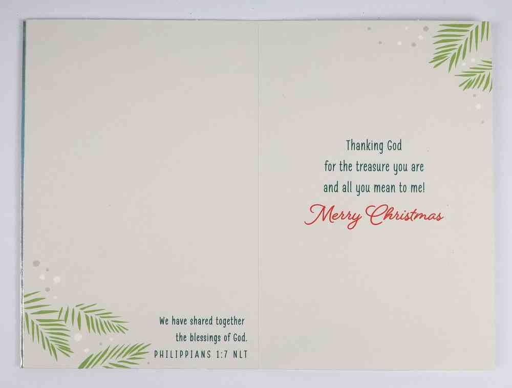 Christmas Anyone - Memories We Treasure Cards