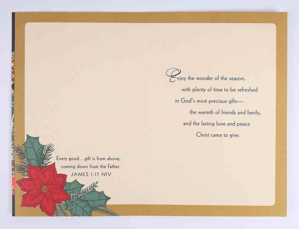 Christmas Anyone - Christmas Blessings Cards