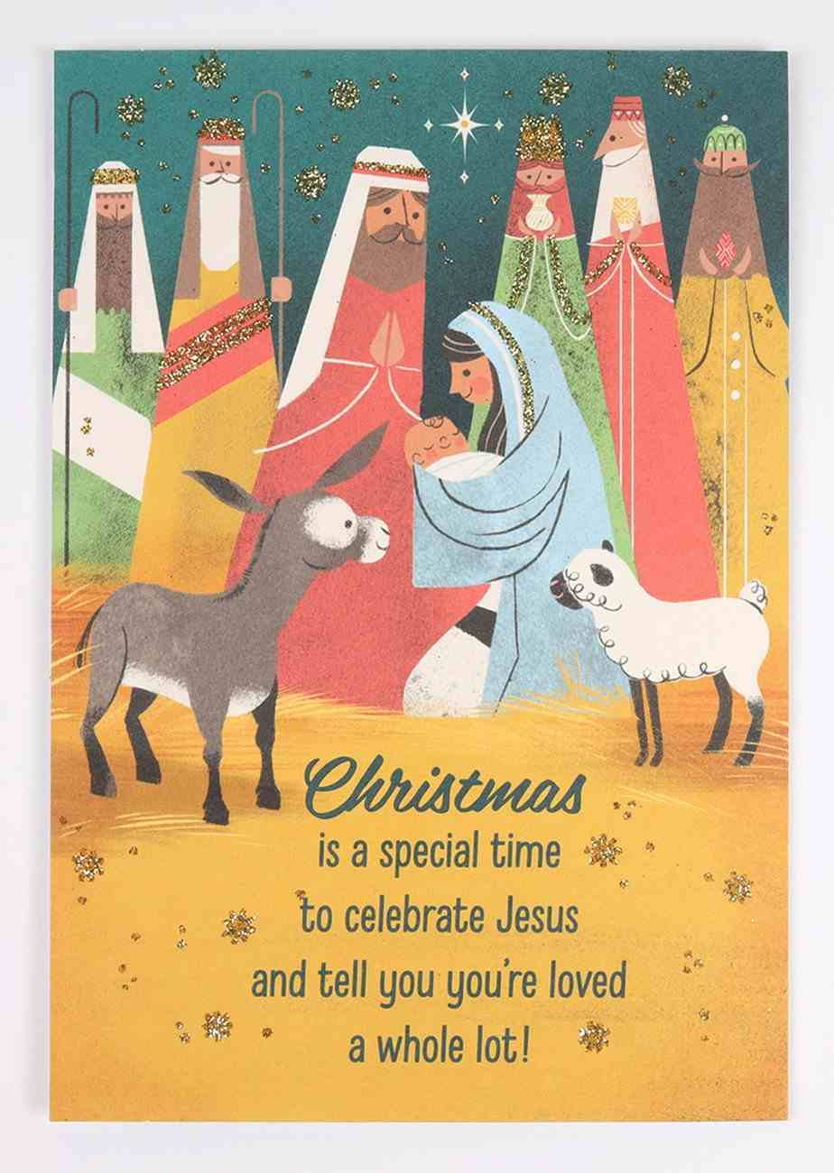 Christmas Anyone - a Special Time Cards