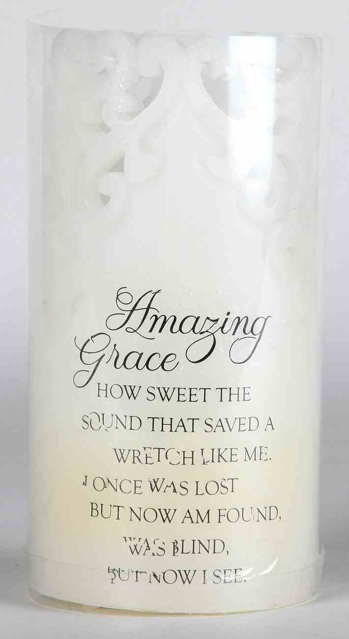 Candle: Sculpted- Amazing Grace (15.18cm) Homeware
