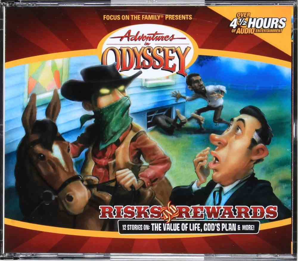 Risk and Rewards (#24 in Adventures In Odyssey Audio Series) CD