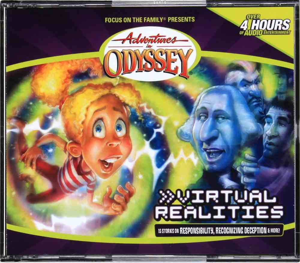 Virtual Realities (#33 in Adventures In Odyssey Audio Series) CD