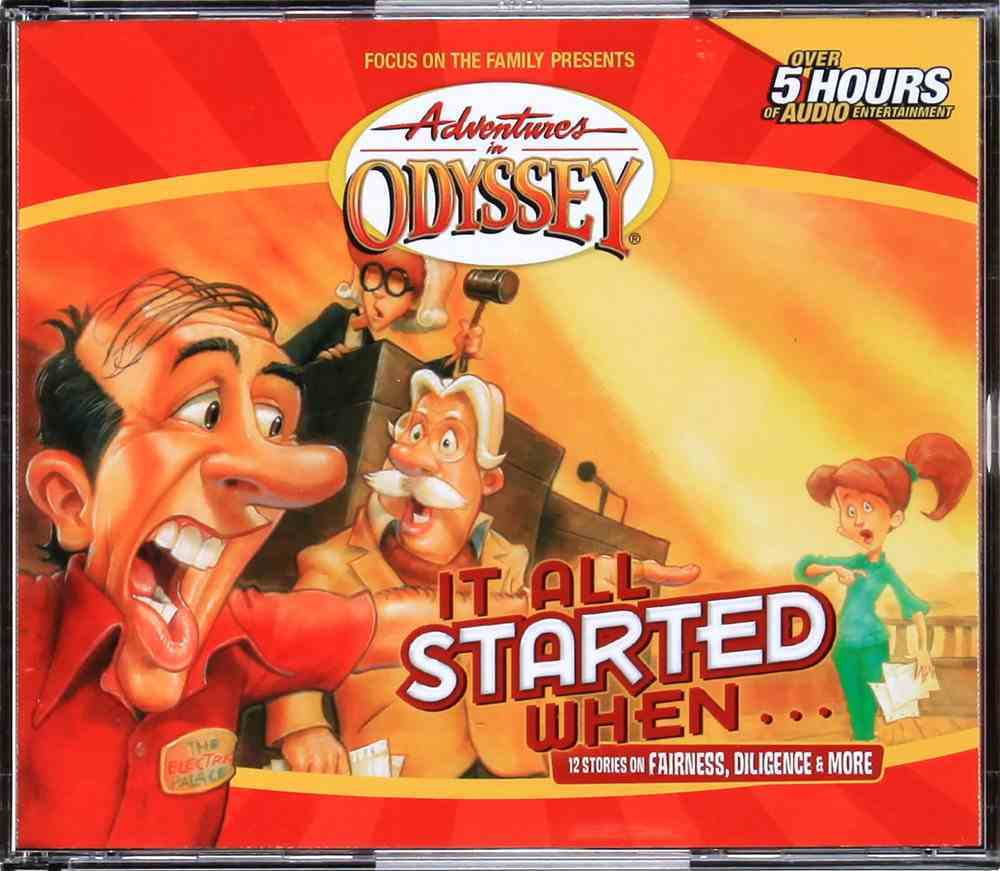 It All Started When (#13 in Adventures In Odyssey Gold Audio Series) CD