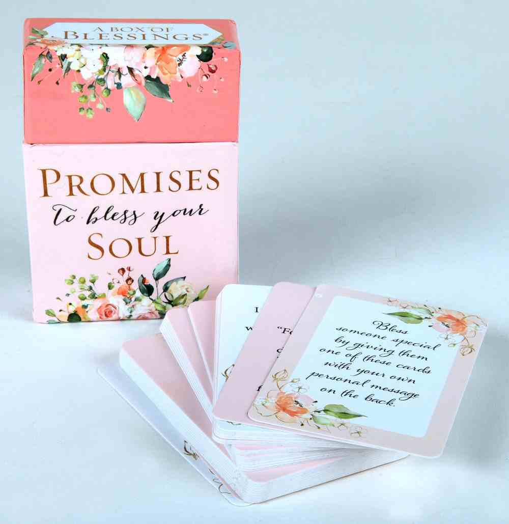 Boxes of Blessings: Promises to Bless Your Soul (Prayer & Praise Collection) Box