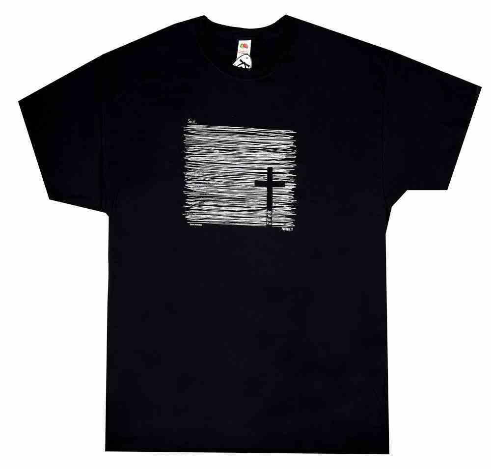 T-Shirt: Seek and You Will Find 3xlarge, Black (Matthew 7:7) Soft Goods