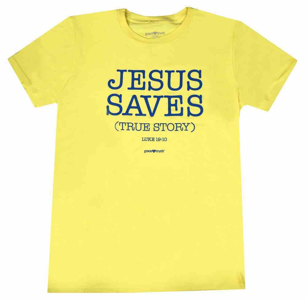 True Story, 2xlarge, Spring Yellow (Luke 19: 10) (Grace & Truth Womens T-shirts Series) Soft Goods