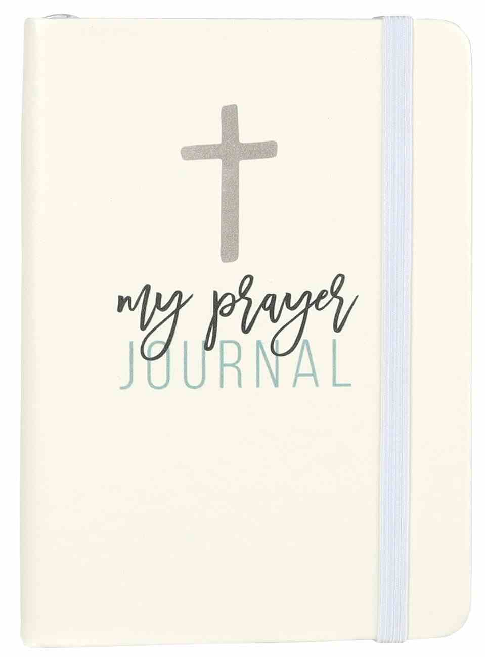 My Prayer Journal With Elastic, A6 Imitation Leather