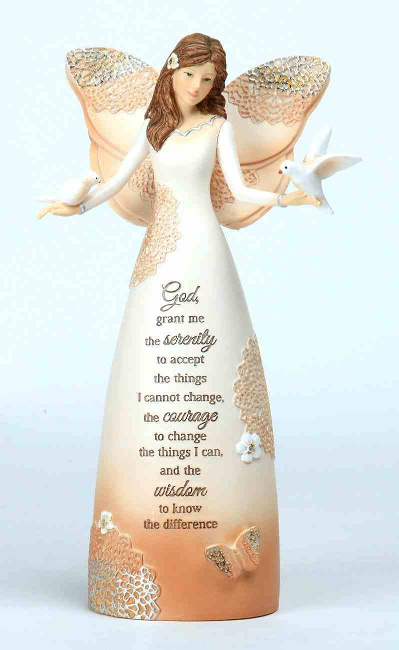 Light Your Way Every Day: Serenity, Angel Holding Doves Homeware