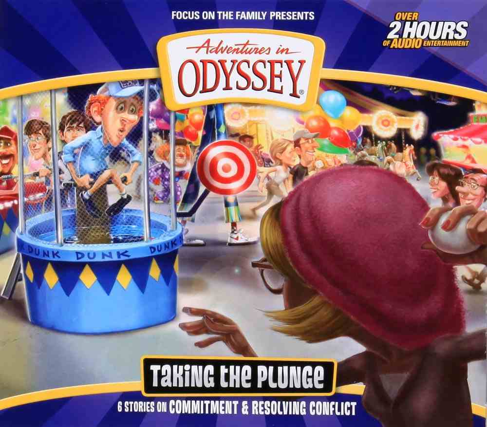Taking the Plunge (#59 in Adventures In Odyssey Audio Series) CD