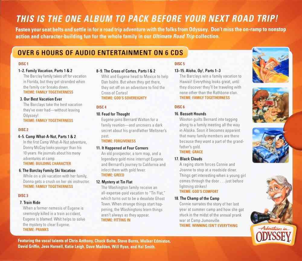 The Ultimate Road Trip (6 CDS) (Adventures In Odyssey Audio Series) CD