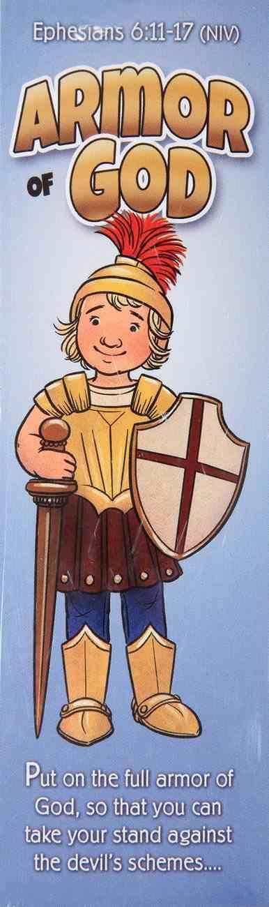 Bookmark: Armor of God Eph 6:11-17 NIV (25 Pack) (Kids) Stationery