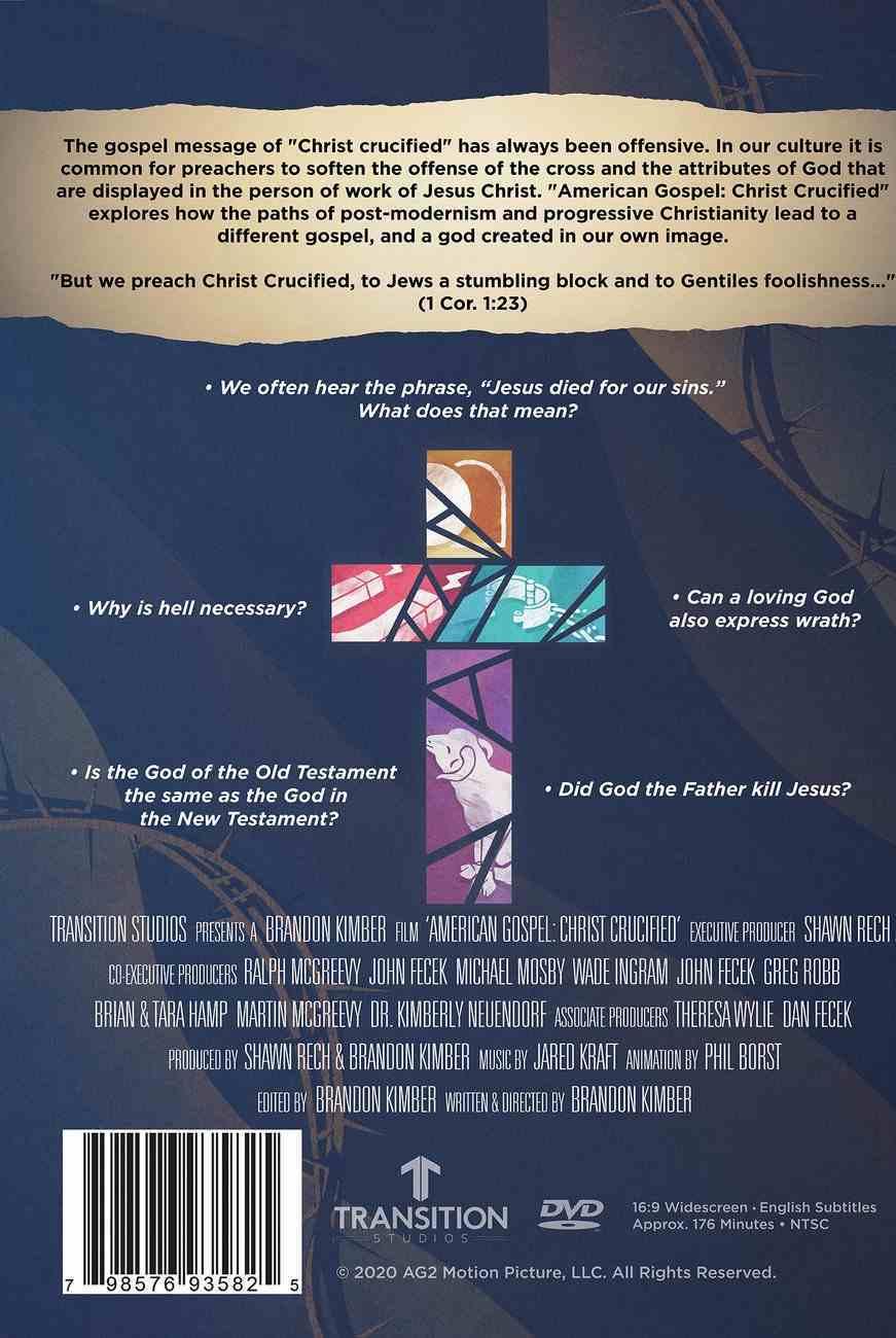 American Gospel: Christ Crucified DVD