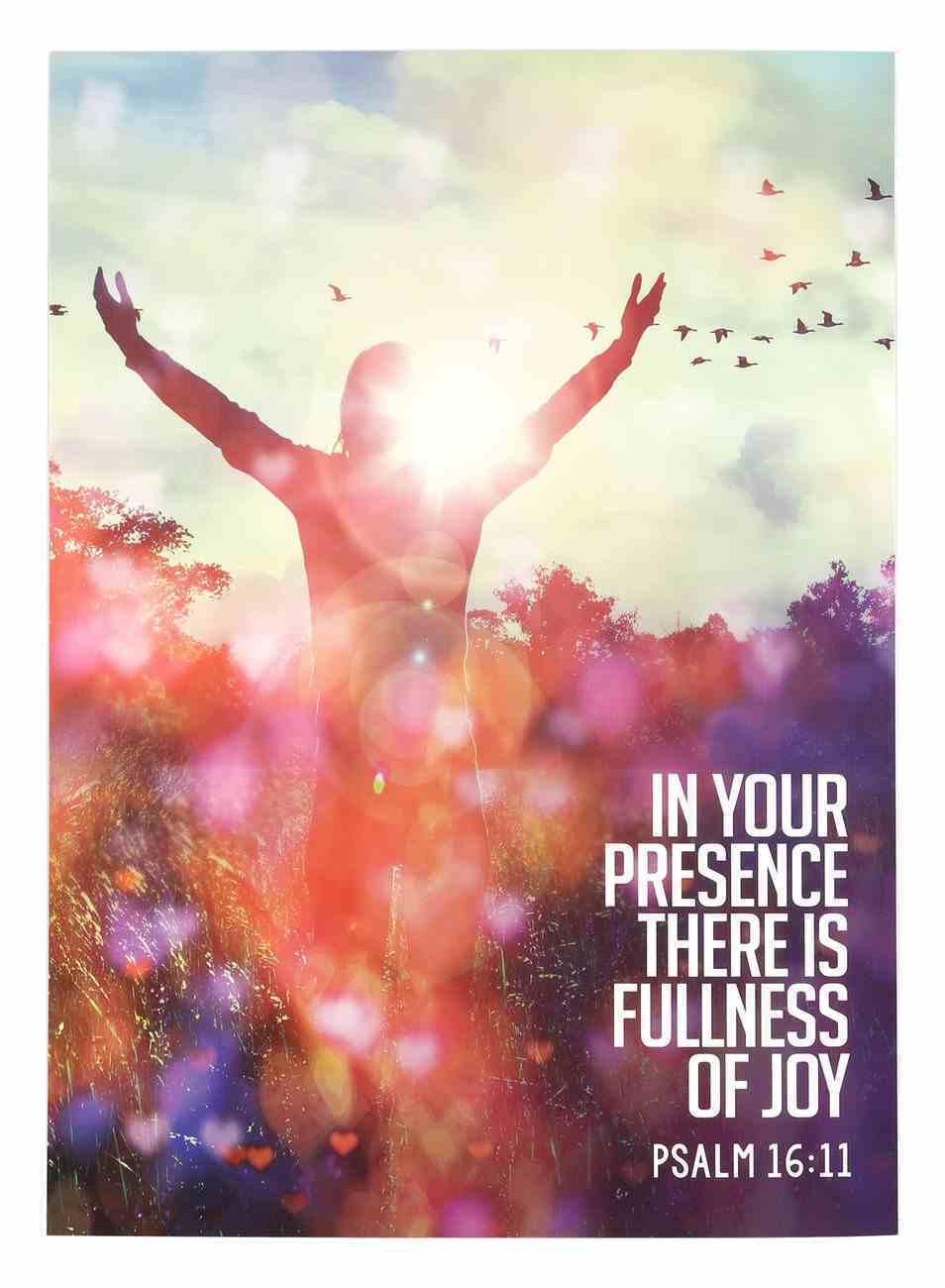 Poster Large: Fullness of Joy Poster
