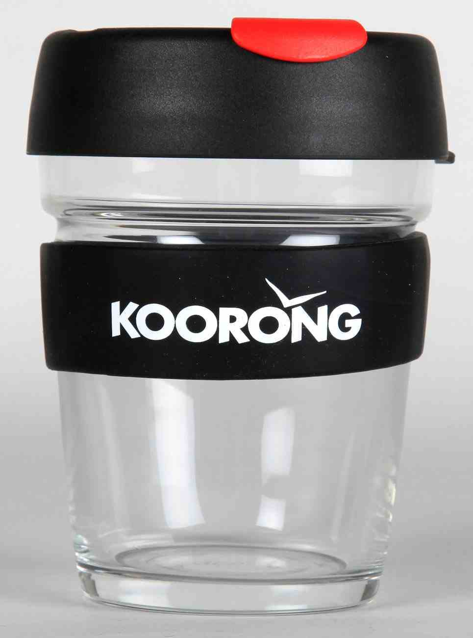 Keep Cup: Glass Brew Edition With Koorong Logo, Medium 12Oz Homeware