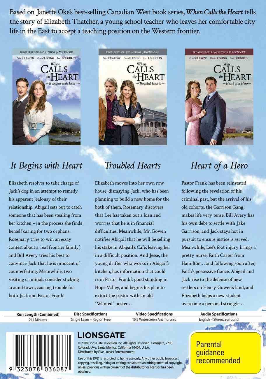 When Calls the Heart Collection #05 (3 Dvds) DVD