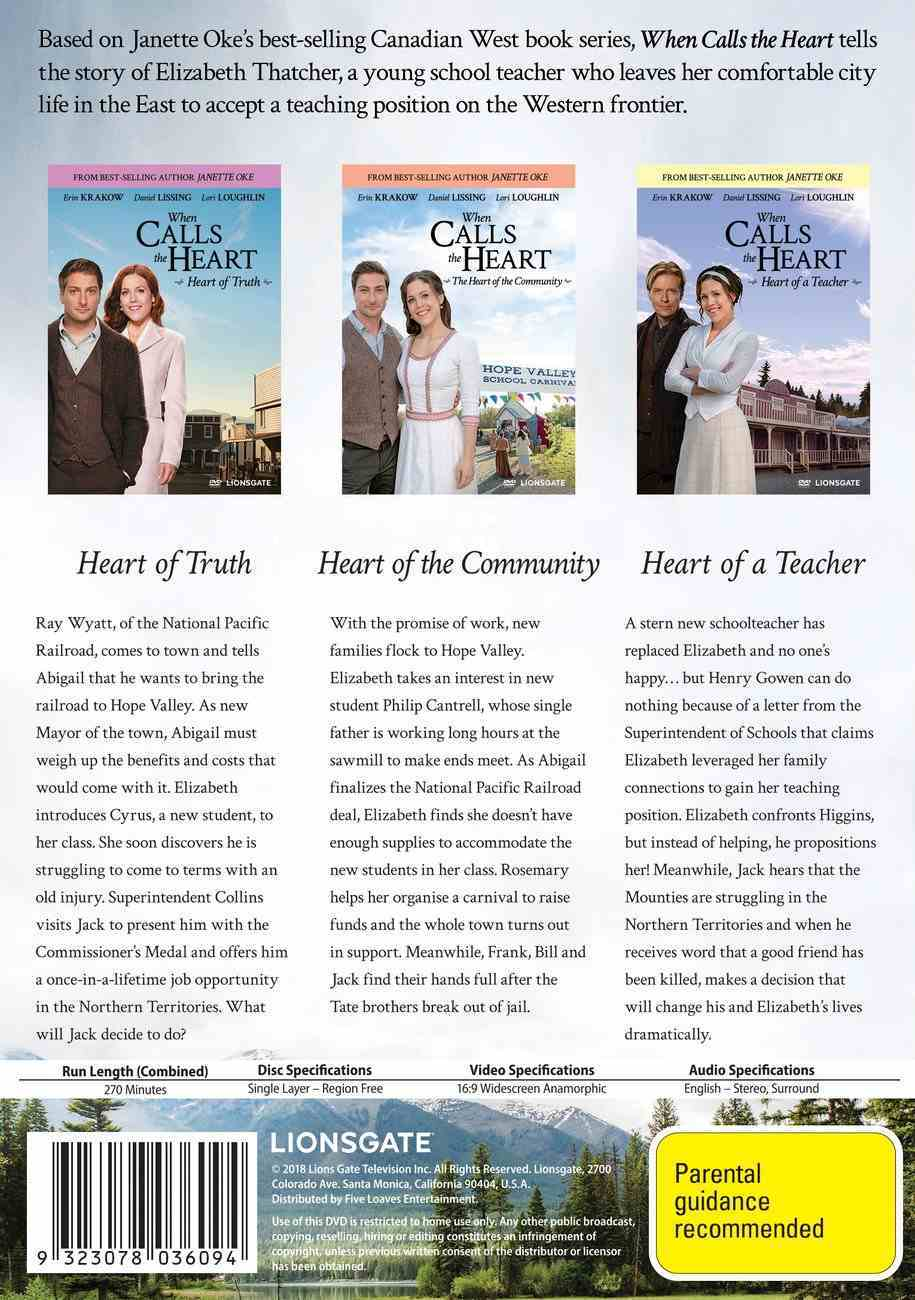 When Calls the Heart Collection #07 (3 Dvds) DVD
